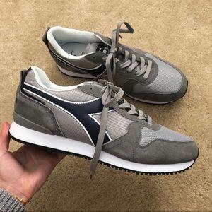 NEW Diadora Olympia grey sneakers